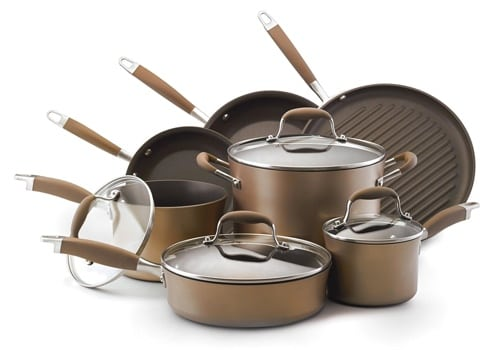 Anolon Advanced Bronze Cookware Set