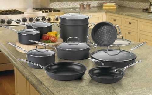 Cuisinart 66-17 Chef's Cookware Set