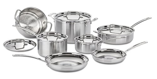Cuisinart MCP-12 MultiClad Pro Cookware Set