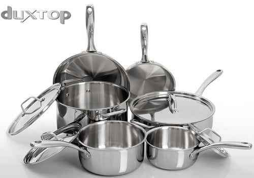 Duxtop Whole-Clad Tri-Ply 10-Pc Set