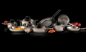Emeril E914SC64 PRO-CLAD Tri-Ply Cookware Set