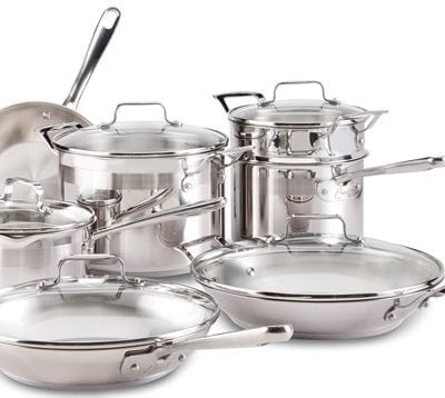 Emeril Chef's 12-Piece Set Cookware