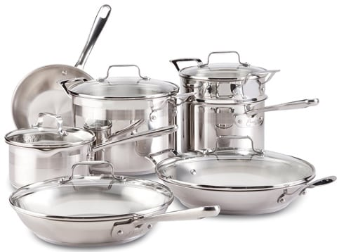 Emeril by All-Clad E884SC74 Cookware Set