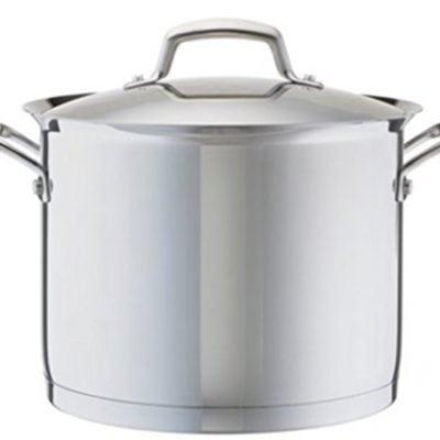 Kirkland Signature 18/10 Stainless Steel 13 Piece Cookware Set