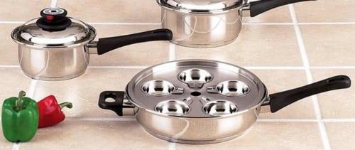 Maxam KT17 17-Piece Cookware Set