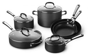 Simply Calphalon SA10H Cookware Set