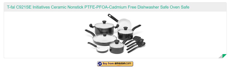 T-fal C921SE Initiatives PTFE-PFOA-Cadmium Free