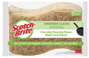 Scotch-Brite Greener Clean Sponge